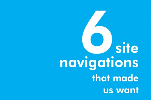 Rootid's 6 Site Navigations That Made Us Want to Explore